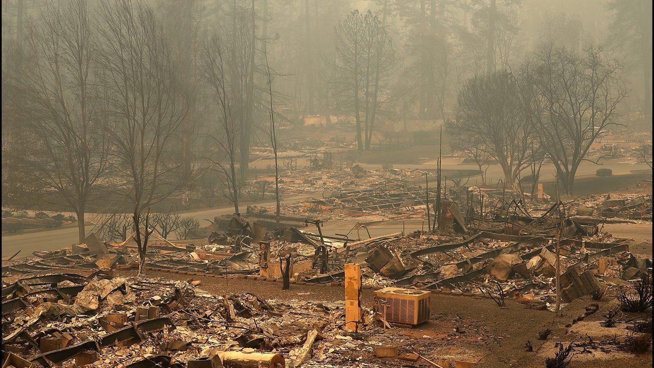 Paradise California Just Beginning Damage Assessment