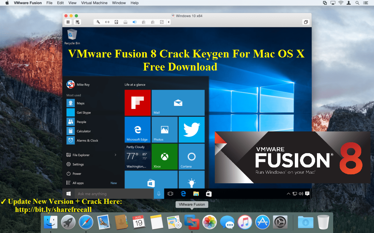 Fusion Pro Vmware Fusion Pro 8 5 8 Cracked Serial For Mac Os Sierra Free