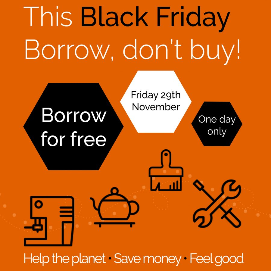 This Black Friday Free Borrowing At Share Share Frome A Library Of Things