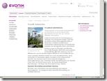 Beim Evonik-Konzern basiert das weltweite Intranet für 39000 Mitarbeiter auf Sharepoint. An 100 Standorten in 31 Ländern stehen lokalisierte Sites im identischen Design bereit – hier die deutsche Variante.