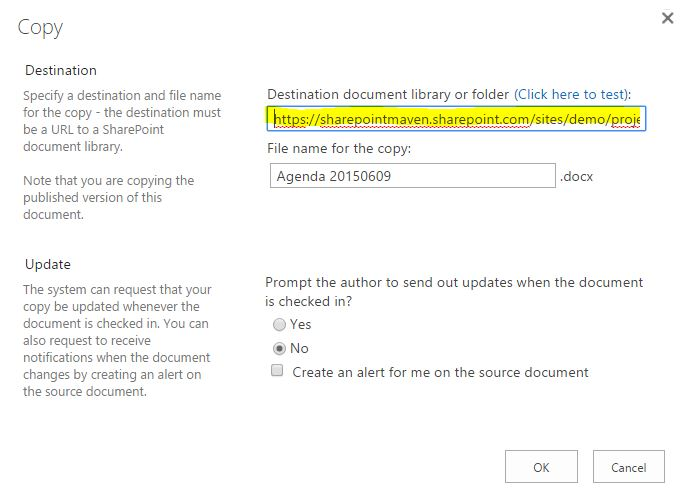 How not to copy files in SharePoint - SharePoint Maven