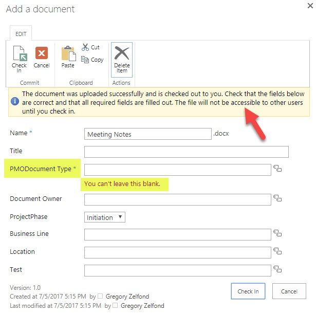 7 reasons you cannot find the documents in a SharePoint document