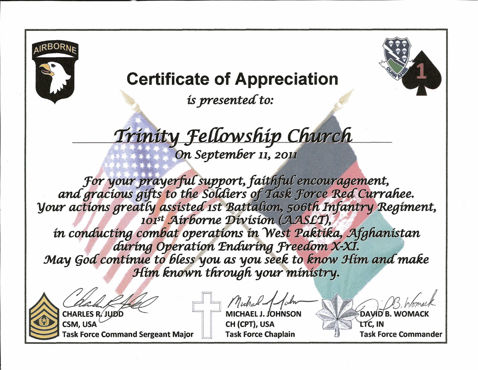 sample certificate of appreciation for guest speaker