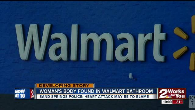 Dead body found in Walmart bathroom had been there for three days - walmart sand springs