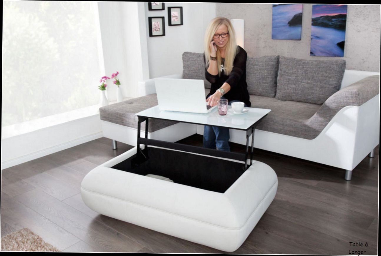 Table Basse Relevable Design Table Basse En Verre Relevable Design Mobilier Design
