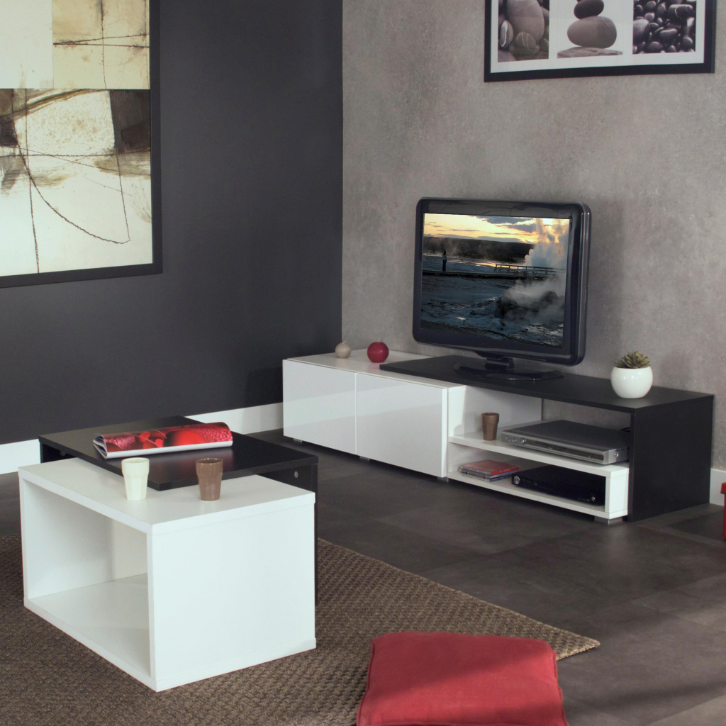 Meuble D Angle Tv Conforama Meuble Tv à Roulettes Conforama Mobilier Design