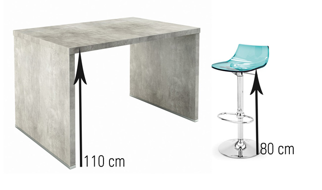 Meuble Tv 110 Cm Conforama Tabouret De Bar 120 Cm - Mobilier Design, Décoration D
