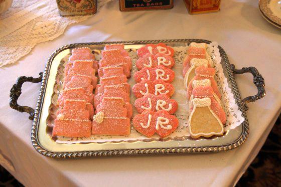Bridal Shower cookies- made by Grandma Marilyn