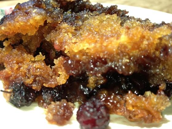 Mulberry Cobbler