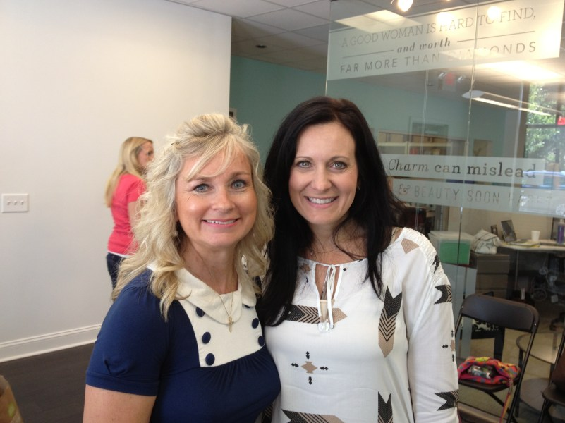 My amazing friend and president of Proverbs 31 Ministries, Lysa Terkerust