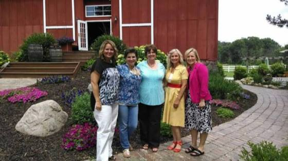 In Michigan this past June at the 6 week video Keep it Shut Bible Study recording! w/ Melissa Taylor, Lindsey, KAREM EHMAN, me and Kim