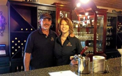 Wine on tap at Sharon James Cellars in Newbury Township