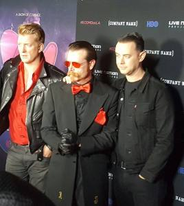 Josh Homme, Jesse Hughes and Colin Hanks