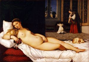 Titian Venus of Urbino 1534