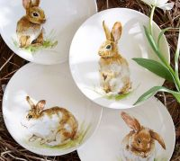 Fab Find! Pottery Barns Easter Bunny Tableware   Sharon ...