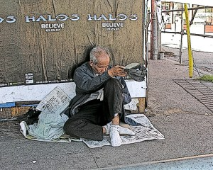 Should you give cash to a homeless man?
