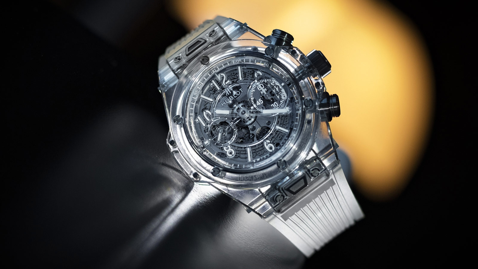 Fall Aesthetic Wallpaper Hublot Created This Incredible Transparent Watch Using