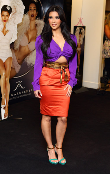 Kim Kardashian perfume London Launch