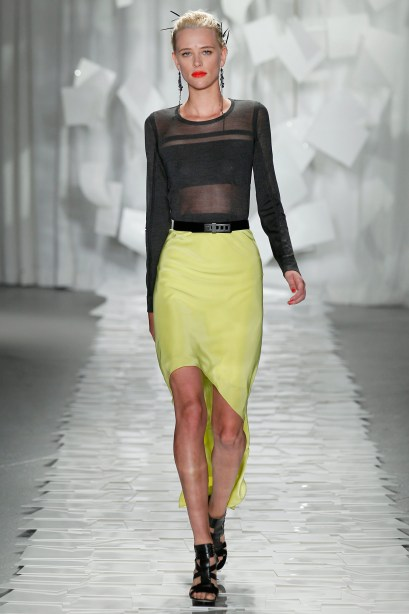 jason wu green skirt