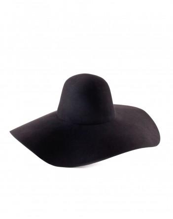lavin asymmetrical felt hat