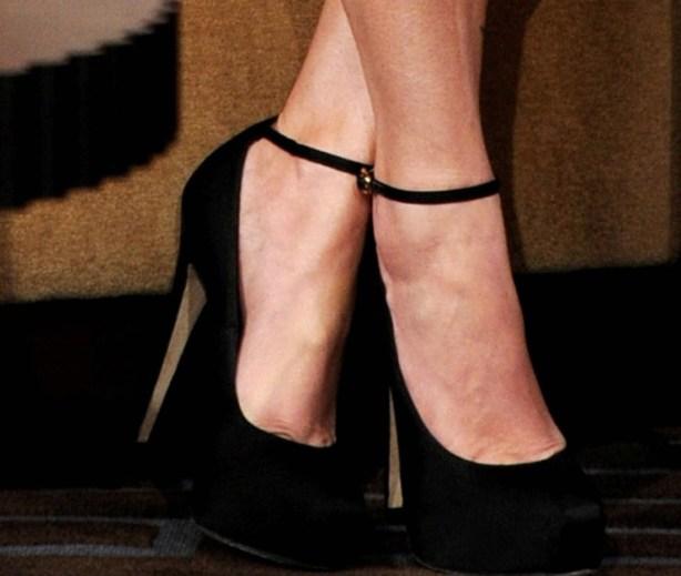 megan fox black shoes