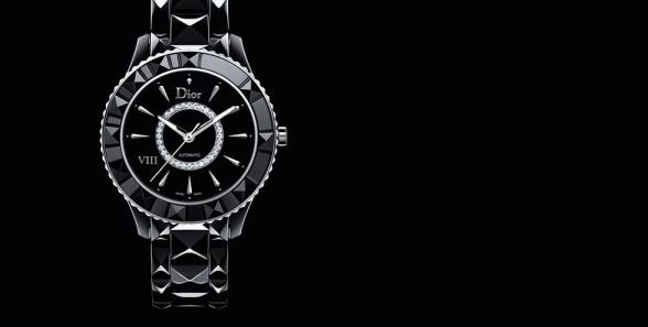 dior viii watch black