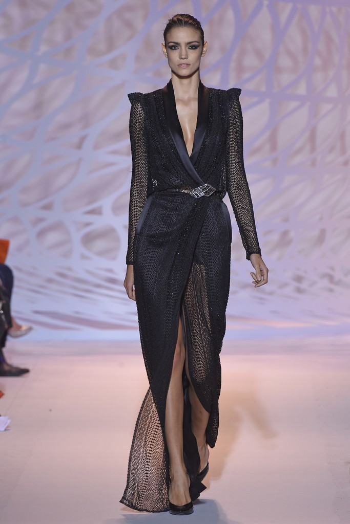 zuhair murad 2014 collection black dress