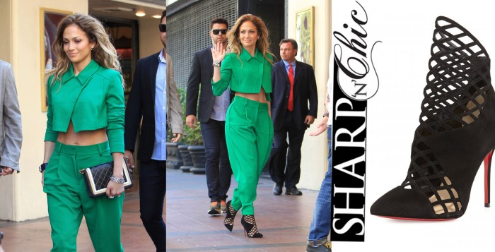 JENNIFER LOPEZ GREEN SUITE