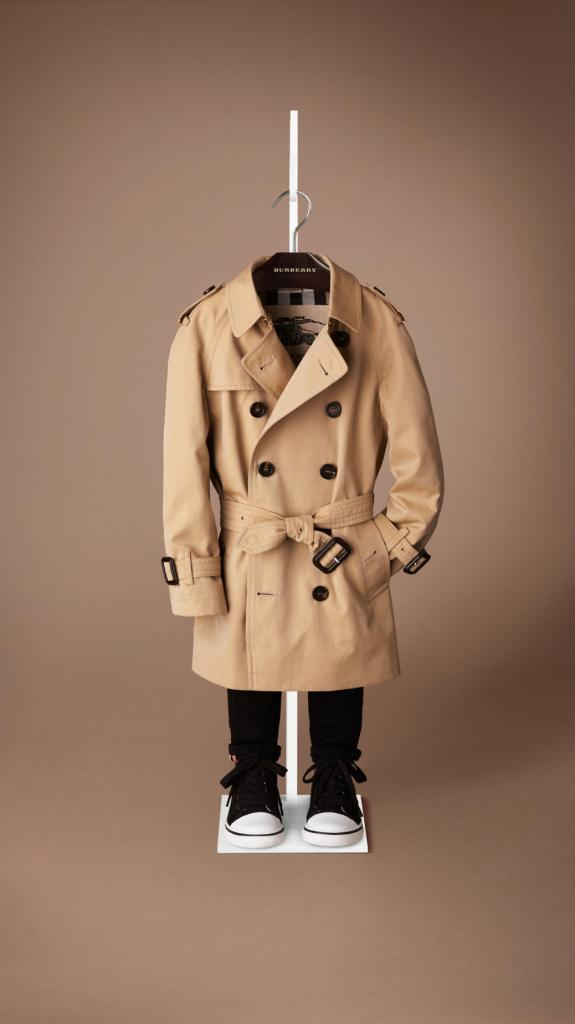burberry trench coat children