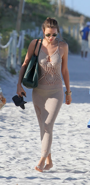 long crochet sexy dress