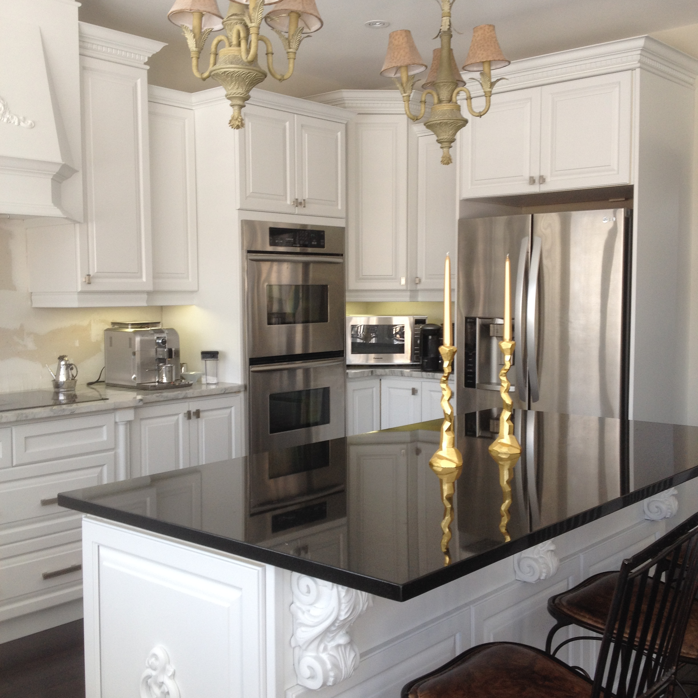 Kitchen Cabinet Spray Paint Spray Painted Kitchen Cabinets Done In Sherwin Williams