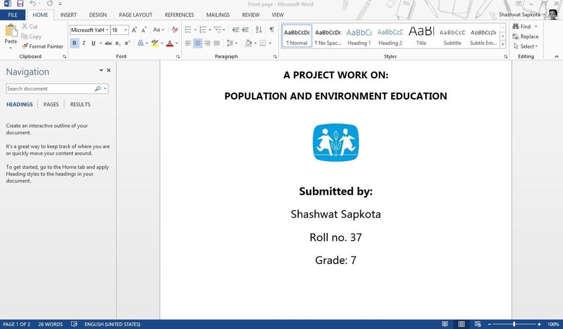 Shashwat\u0027s work - Welcome to Shashwat Sapkota\u0027s website!