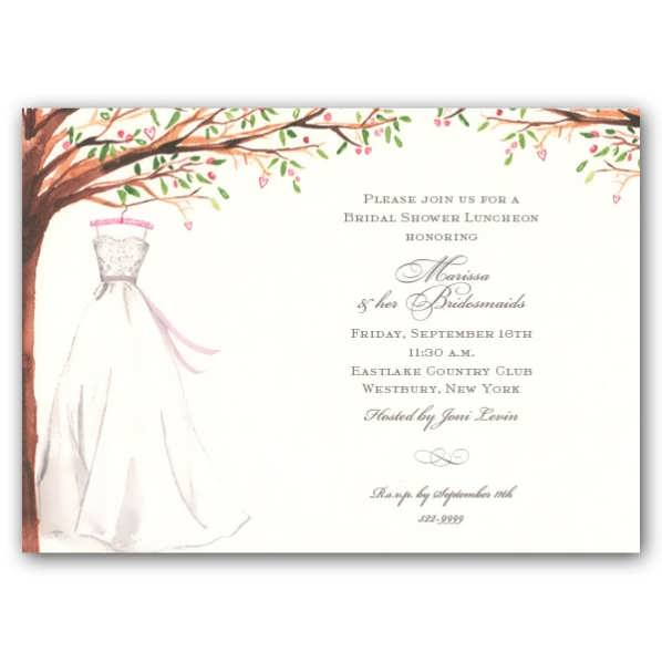 bridal shower invitations templates microsoft word - Goal