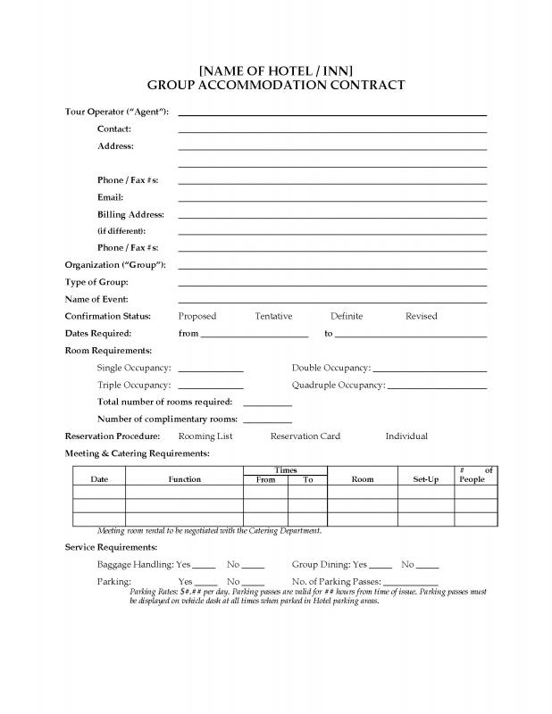 Catering Contract Template shatterlioninfo