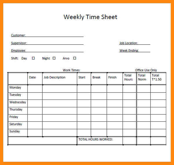 Daily Timesheet Template shatterlioninfo - Daily Timesheet Template