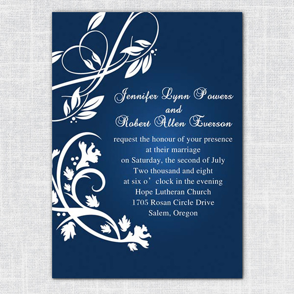 Editable Wedding Invitation Templates Free Download shatterlioninfo