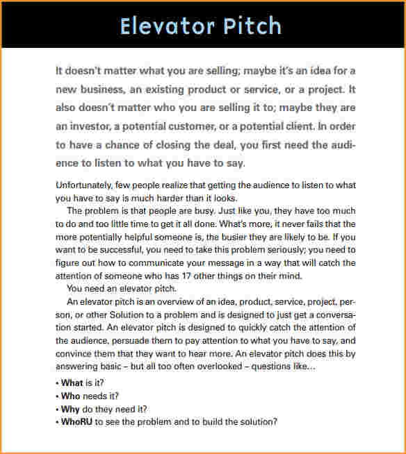 Elevator Pitch Template shatterlioninfo - product pitch template
