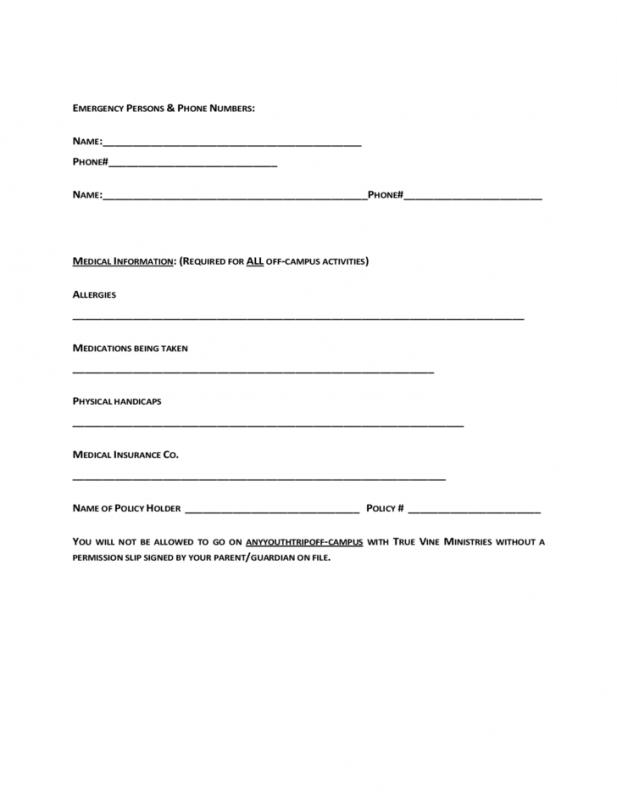 Emergency Contact Form Template shatterlioninfo - emergency contact form template