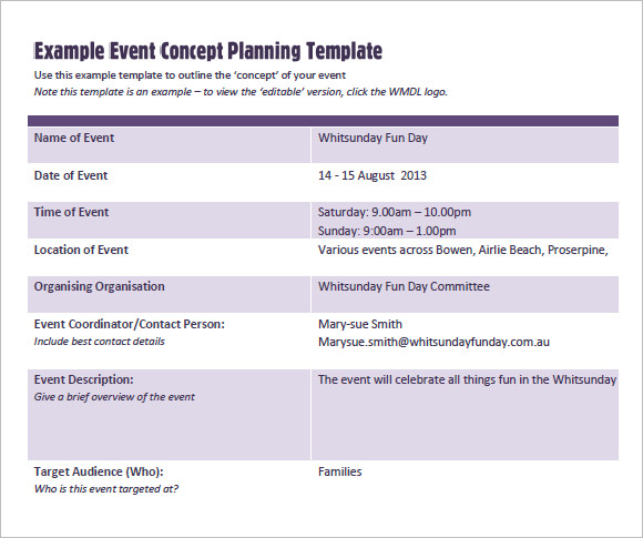Event Proposal Template Kearona Events An Event Marketing Prsiopo - event planning proposal sample