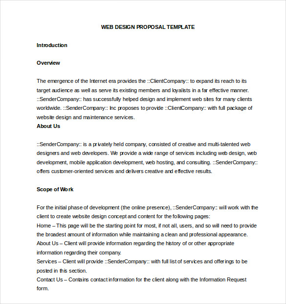 Free Business Proposal Template shatterlioninfo - free consulting proposal template