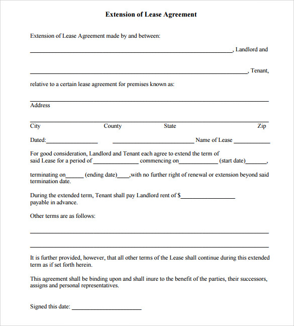 Free Commercial Lease Agreement Template Word shatterlioninfo
