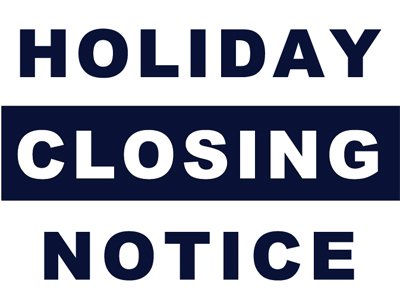 Holiday Signs For Closing Office kicksneakers - holiday signs for closing office