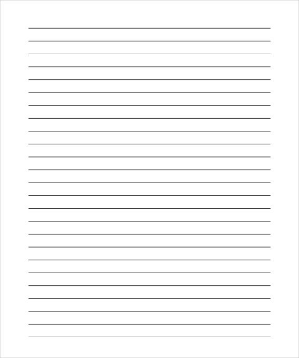 Lined Paper Template Pdf shatterlioninfo - lined paper template