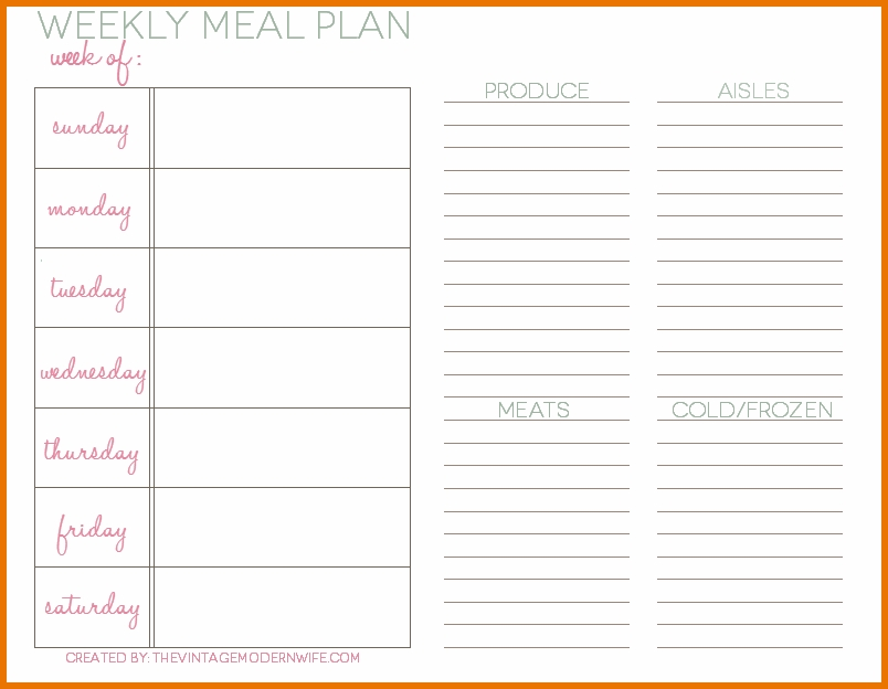 Meal Plan Template Excel shatterlioninfo - meal plan template excel
