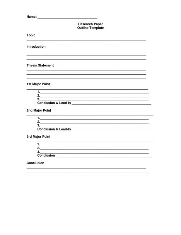 Mla Outline Template Critical Thinking Th Grade Worksheets Sample