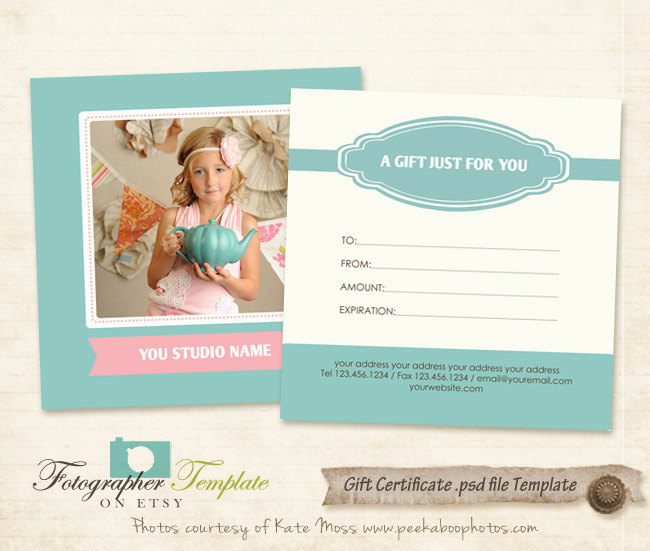 Photography Gift Certificate Template Free shatterlioninfo