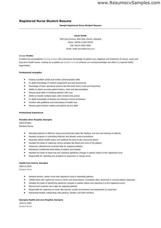Resume Sample For Recent College Graduate - resume example for college graduate