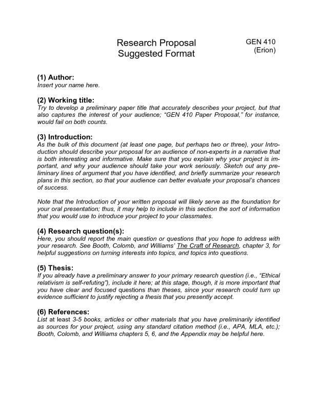 Research Paper Proposal Template shatterlioninfo
