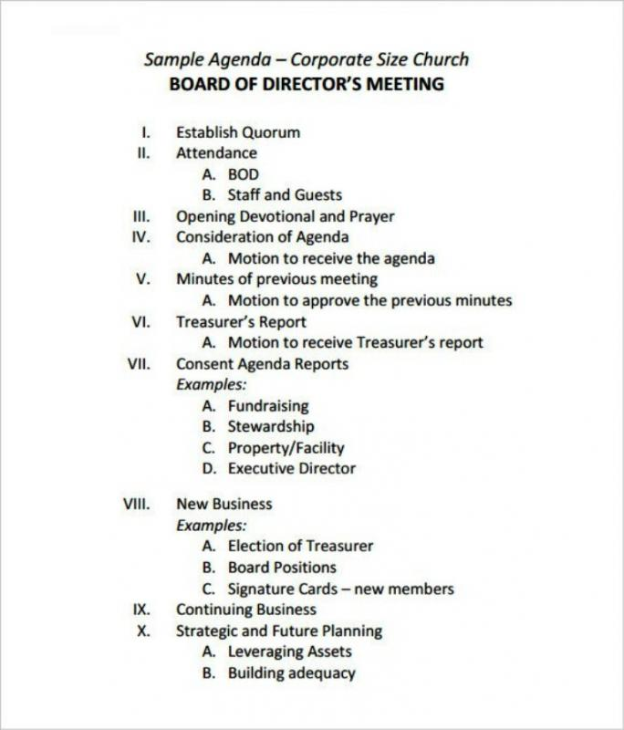 Sample Meeting Minutes Template shatterlioninfo - sample board meeting agenda
