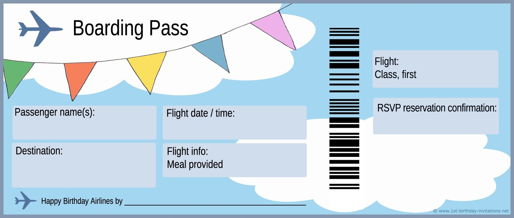 plane ticket invitations auto electrical wiring diagram